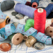 Sewing supplies — Foto Stock