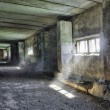 Dilapidated old agricultural building - Stockfoto
