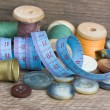 Sewing — Stockfoto