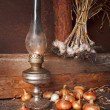 Foto Stock: Kerosene lamp