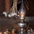 petroleum lamp — Stockfoto
