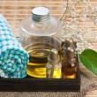 Still-life subjects of relaxing spa — Stock Photo