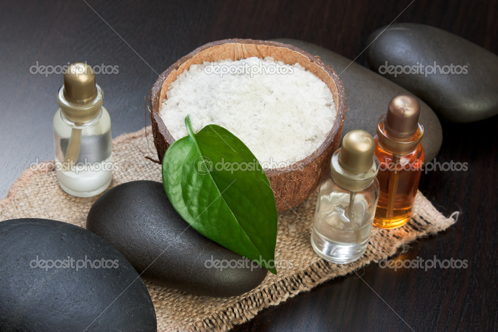 Still-life subjects of relaxing spa treatments — Stock Photo #6720407