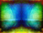 Abstracte kunst symmetrische — Stockfoto