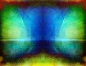 Arte abstrata simétrico — Foto Stock