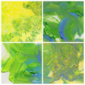 Abstract acrylic paint backgrounds — Stock Photo