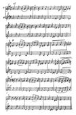 Handmade musical notes. — Stock Vector