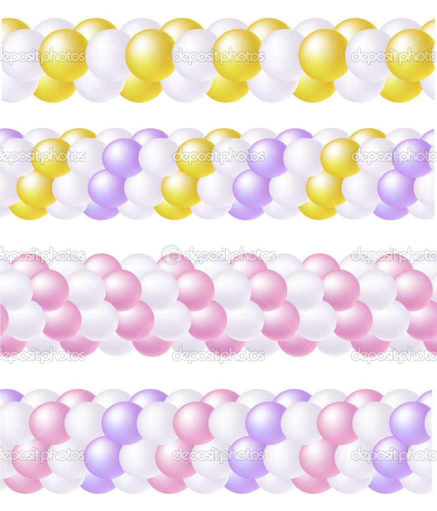 The gallery for --> Balloon Border Clip Art