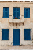 Locked old house in Greece — Stock Photo