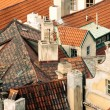 Stock Photo: Roofs downtown Prague, Czech Republic, Europe