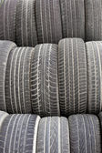 Old tires background texture pattern — Stock Photo