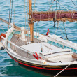 Stock Photo: Small traditional Greek sailboat