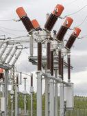 High-voltage ciruit breaker — Stock Photo