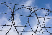 High-Security Fencing — Stock Photo