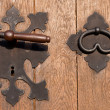 Iron door hardware — Stock Photo #6057080
