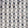 Tile Mosaic forming 3D Geometric Pattern — Stock Photo #6108639