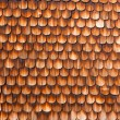 Wooden Shingles Background Pattern — Stock Photo