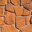 Sandstone Wall Background Texture Pattern — Stock Photo