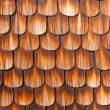 Stock Photo: Wooden Shingles Background Pattern