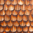 Wooden Shingles Background Pattern — Stockfoto