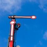 Old railway semaphore — Stock Photo #6200556