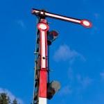 Old railway semaphore — Stock Photo #6200567