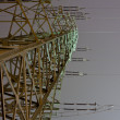 Stock Photo: High voltage power line