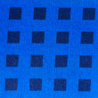 Blue patterned fabric - Stockfoto