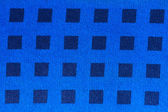 Blue patterned fabric — Foto Stock