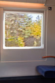 Inside high-speed train — Stock Photo