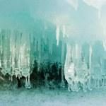Ice Cave — Stock Photo