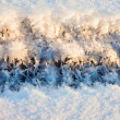 Stock Photo: Ice and snow crystals