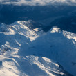 Aerial view of snowcapped peaks in BC, Canada — Stock Photo #6539620