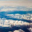 Snowcapped mountains - Stock Photo