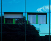 Reflective building — Stock Photo