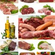 Assorted raw meats — Stock Photo #6043789