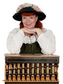 Barrel organist — Stock Photo