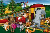 Train Trip — Stock Photo
