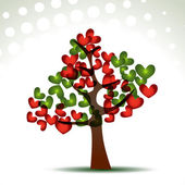 Heart tree — Vetorial Stock