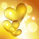Vector golden heart — Stock Vector #6453136