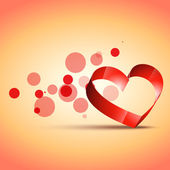 Stijlvolle hart ontwerp — Stockvector