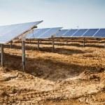 Solar panel plant — Stock Photo #5463662