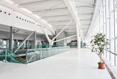 New Bucharest Airport - 2011 — Stock Photo