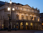 Milan - La Scala theater — Stock Photo