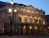 Milan - La Scala theater — Stock Photo
