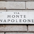 ViMonte Napoleone — Stock Photo #6169136