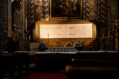 Turin, Italy - Sacred Shroud — Stock Photo