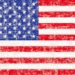 Royalty-Free Stock Photo: Grunge American flag background