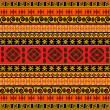 Stock Photo: Traditional Africpattern