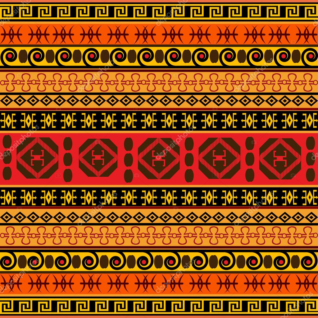 Traditional African pattern — Stock Photo © hibrida13 #5585046 Traditional African Patterns